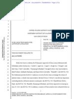 Apple/Google/Intel/Adobe Wage Fixing Settlement Denied