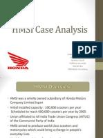 HMSI Case Analysis