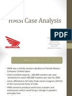 HMSI Case Analysis