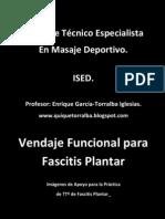 Vendaje Funcional Fascitis Plantar.