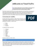 Normas de Codificación en Visual FoxPro
