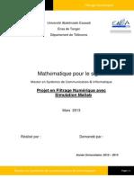 Filtrage Numerique.pdf