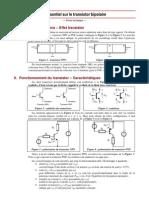 l'Essentiel Sur Transistor Bipolaire