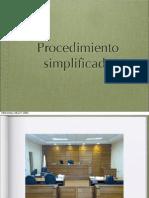 Simplificado y monitorio