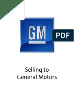 2010-07-14 Selling to General Motors