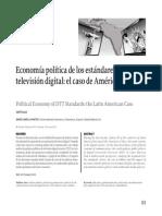 Economía Política de Los Estandares de TV Digital