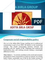 Aditya Birla Group-csr