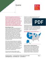 DPA Fact Sheet Medical Marijuana August2014