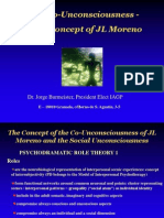 Co Unconsciousness Key Concept of JL Moreno
