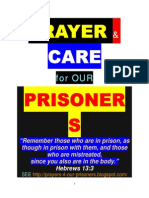 PRAYERS 4 PRISONERS (Hebrews 13.3)