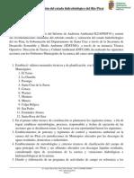 Estudio y Valoracin Del Estado Hidrobiolgico Del Ro Pirai
