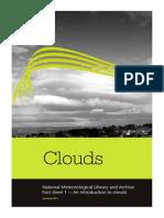 Fact Sheet No. 1 Clouds