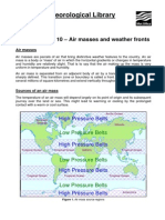 Metoffice No. 10 - Air Masses and Weather Fronts