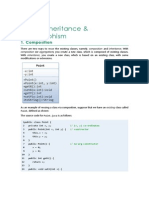 OO PInheritance & Polymorphism
