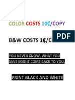 Color Costs 10