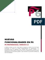 10. Nuevas Funcionalidades en El P6 - Versión 8.3