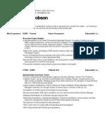 resume-jacobson 2014