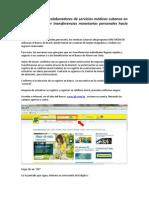 Instructivo a Los Colaboradores de Servicios Médicos Cubanos en Brasil Para Enviar Transferências Monetárias Individuales Ha