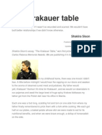 The Krakauer Table