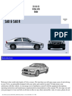Volvo s60 Owners Manual 2005