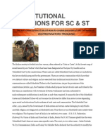 Constitutional Provisions for Sc