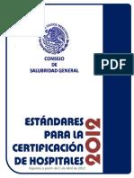 EstandaresCertificacionHospitales2012