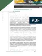 Politica Monetaria y Mercado Cambiario