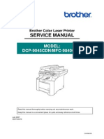 Manual Brother Mfc9840cdwservice
