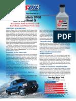 Series 3000 Synthetic 5W-30 Heavy-Duty Diesel Oil buy online at www.oilshopper.com