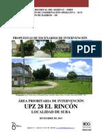 API 28 El Rincon