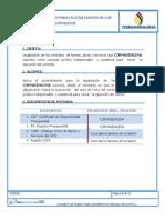 6.3.1 Procedimiento Para La Legalizacion de Los Contratos