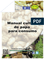 Manual Cultivo de Papa Para Consumo