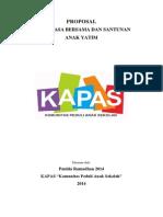 Proposal Buka Puasa Kapas 2014