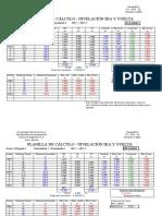 P1 Planilla Cálculo Nivelación de Bancos de Nivel