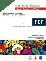 CAPÍTULO IX. Ciencia, Tecnología y Educación