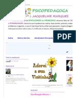 Psicopedagoga Jacqueline Marques_ Coordenação Motora