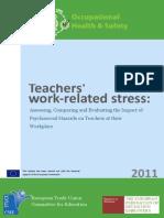 Teacher Work Related Stress