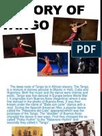 Report - History of Tango