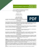 Decreto Nº 3.895 - Desarrollo Endógeno y Empresas de Producción Social