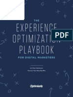 Experience Optimization Playbook
