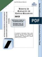 Estructura Informe Final de Autoevaluacion