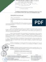 Calendario Académico 2014-II