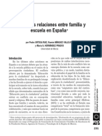 Las Relaciones Dificiles Entre Familias y Escuelas