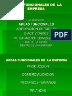 Empresa 2 Areas Funcionales