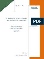 Metodologias de Operacionalização  MAA I Lídia Costa
