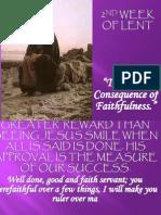 1st Week of Lent