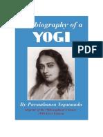 Autobiography of a Yogi - Paramhasa Yogananda
