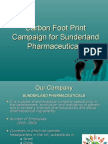 Carbon Foot Print Campaign for Sunder Land Pharmaceuticals