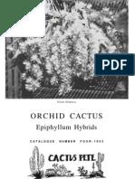 Cactus Pete Orchid Cactus Epiphyllum Hybrids Catalog