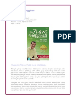 Buku the 7 Laws of Happiness